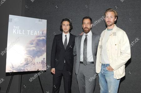 Editorial photo of 'The Kill Team' film screening, Landmark Theater, New York, USA - 15 Oct 2019