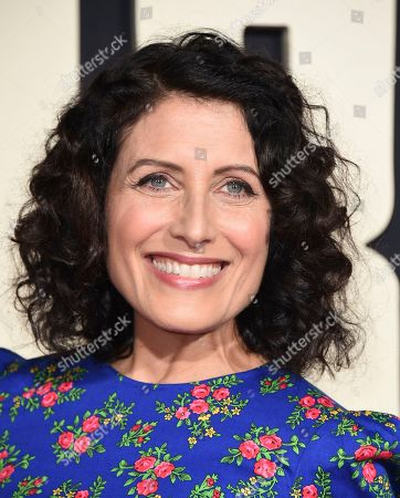 """Stock Picture of Lisa Edelstein arrives at the Los Angeles premiere of """"Jojo Rabbit"""" at the Hollywood American Legion Post 43 on"""