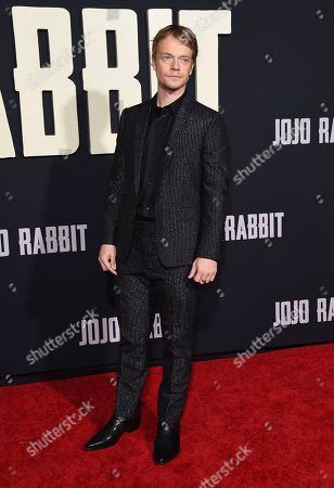 "Editorial picture of LA Premiere of ""Jojo Rabbit"", Los Angeles, USA - 15 Oct 2019"