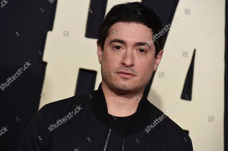 """Jason Fuchs arrives at the Los Angeles premiere of """"Jojo Rabbit"""" at the Hollywood American Legion Post 43 on"""