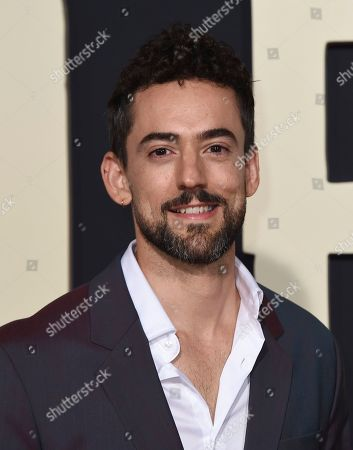 """Stock Picture of Luis Gerardo Mendez arrives at the Los Angeles premiere of """"Jojo Rabbit"""" at the Hollywood American Legion Post 43 on"""