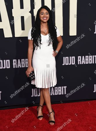 "Editorial photo of LA Premiere of ""Jojo Rabbit"", Los Angeles, USA - 15 Oct 2019"