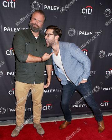 Tyler Labine & Ryan Eggold