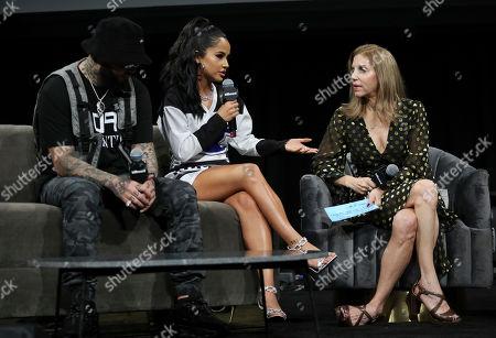 Farruko, Becky G and Leila Cobo