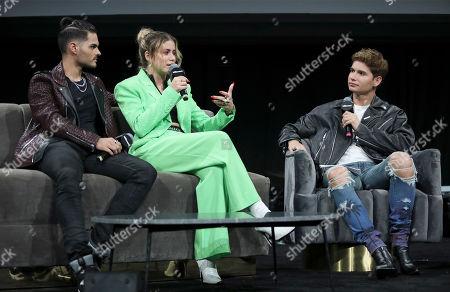 Abraham Mateo, Sofia Reyes and Christian Acosta