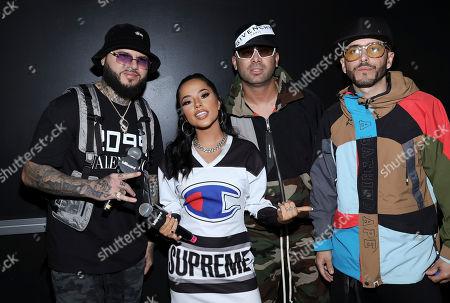 Farruko, Becky G and Juan Luis Morera Luna & Yandel