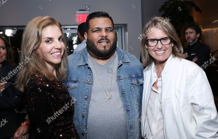 Leila Cobo, Andy Martinez and Deanna Brown and Guests