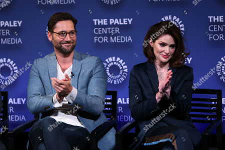 Ryan Eggold and Janet Montgomery