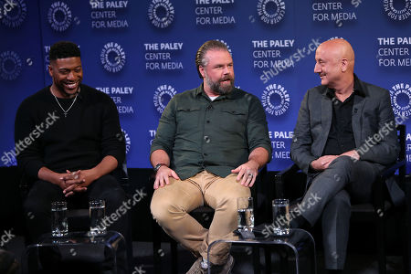 Stock Picture of David Schulner, Jocko Sims and Tyler Labine