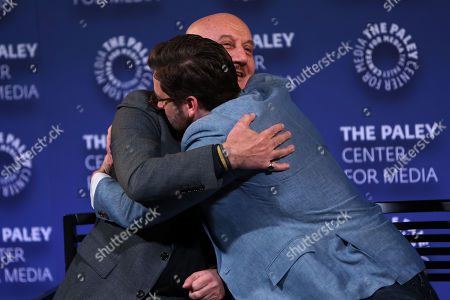Anupam Kher and Ryan Eggold