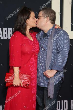 Meredith Salenger and Patton Oswalt