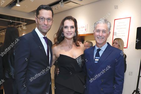 Editorial photo of Academy Of Arts Take Home A Nude Art Party And Auction, Arrivals, New York, USA - 15 Oct 2019