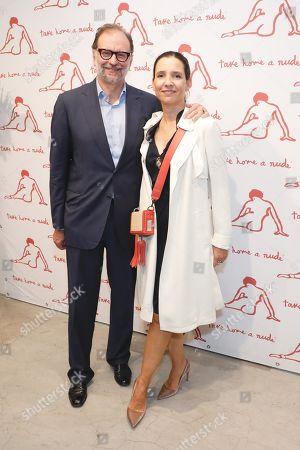 Nicolas Mirzayant and Princess Alexandra of Greece