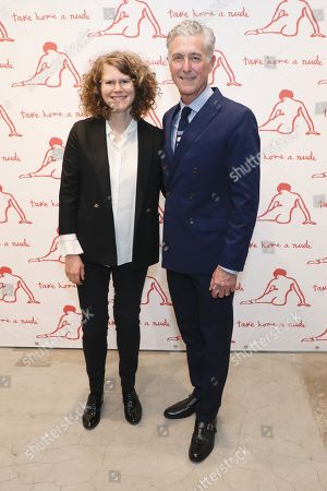 Editorial picture of Academy Of Arts Take Home A Nude Art Party And Auction, Arrivals, New York, USA - 15 Oct 2019