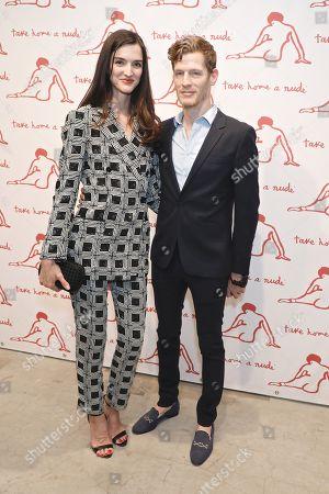 Stock Photo of Zoya Loeb and Damian Loeb