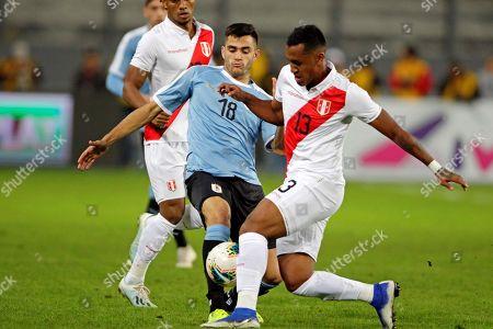Editorial image of Peru vs Uruguay, Lima - 15 Oct 2019