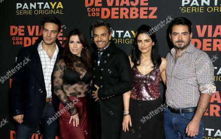 Editorial picture of 'De Viaje con los Derbez' TV show premiere, Arrivals, Alamo Drafthouse Cinema Downtown Los Angeles, USA - 15 Oct 2019