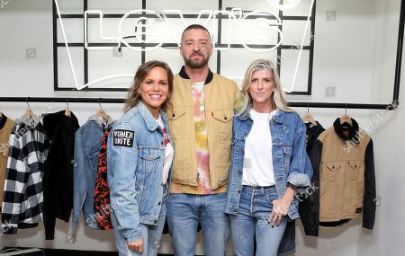 Editorial picture of Levi's Music Project with Justin Timberlake and FW19 Collection Launch, Los Angeles, USA - 15 Oct 2019