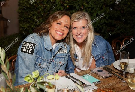 Stock Photo of Jen Sey, Karyn Hillman. Jen Sey, Chief Marketing Officer of Levi's Strauss and Co., and Karyn Hillman, Chief Producer Officer of Levi's Strauss and Co., attend the Levi's Music Project with Justin Timberlake and FW19 Collection Launch at the Levi's Haus, in Los Angeles