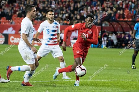Editorial image of Canada v USA, Nations League qualifier football match, Toronto, Canada - 15 Oct 2019