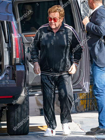 Stock Photo of Sir Elton John