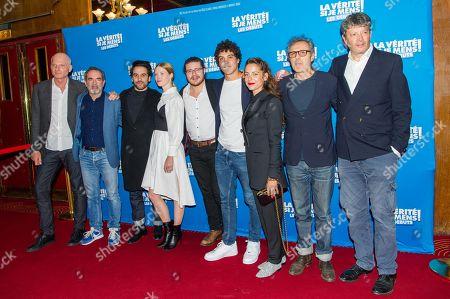 Editorial picture of 'La Verite Si Je Mens Les Debuts' film premiere, Paris, France - 15 Oct 2019