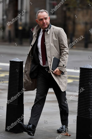 Sir Mark Sedwill, Cabinet Secretary and Head of the Civil Service, arriving at the Cabinet Office, London.