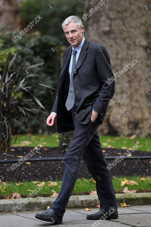 Zac Goldsmith, Minister of State for Environment & International Development, arriving at No.10 Downing Street, London.