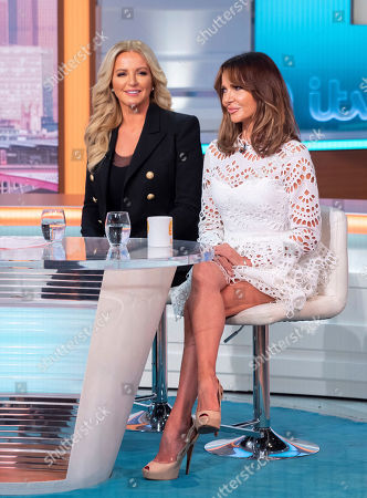 Michelle Mone and Lizzie Cundy