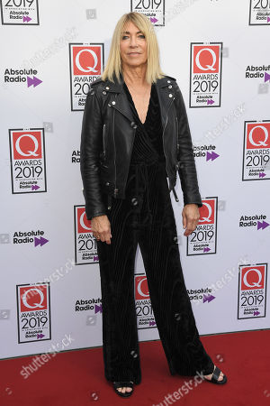 Editorial picture of The Q Awards, Arrivals, Roundhouse, London, UK - 16 Oct 2019