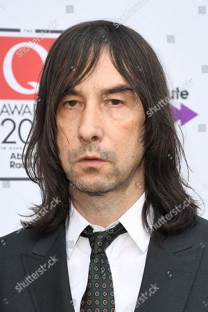 Stock Photo of Bobby Gillespie