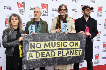 Jarvis Cocker and extinction rebellion protesters