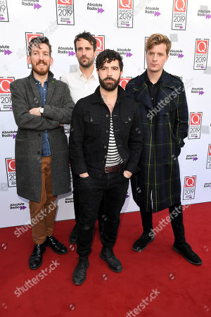 Editorial photo of The Q Awards, Arrivals, Roundhouse, London, UK - 16 Oct 2019