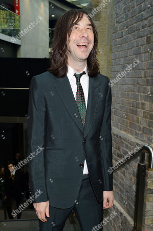Stock Picture of Bobby Gillespie