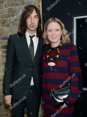 Bobby Gillespie and Roisin Murphy
