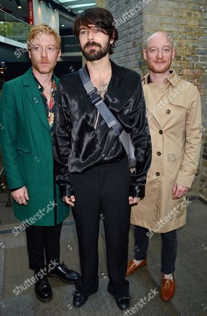 Stock Picture of Biffy Clyro - James Johnston, Ben Johnston, Simon Neil