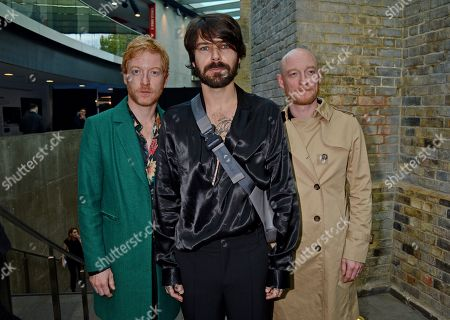 Stock Photo of Biffy Clyro - James Johnston, Ben Johnston, Simon Neil