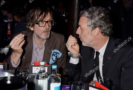 Stock Picture of Jarvis Cocker and Baxter Dury