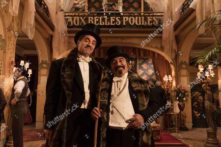 Simon Abkarian as Ange Floury and Marc Andreoni as Marcel Floury