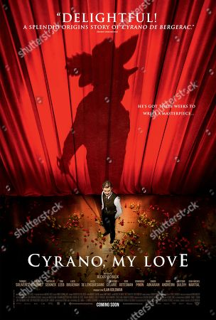 Cyrano, My Love (2018) Poster Art. Thomas Soliveres as Edmond Rostand