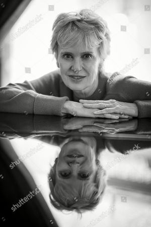 US writer Siri Hustvedt poses for photographs during an interview in Paris, France, 25 September 2019 (issued 16 October 2019). On 18 October 2019, Siri Hustvedt will receive the Princess of Asturias Award for Literature 2019.