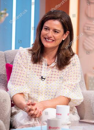 Editorial image of 'Lorraine' TV show, London, UK - 16 Oct 2019