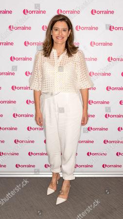 Editorial photo of 'Lorraine' TV show, London, UK - 16 Oct 2019