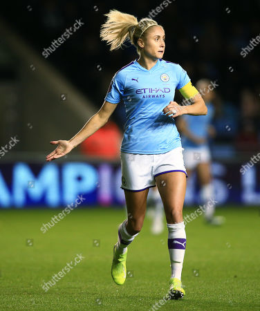 Editorial picture of Manchester City Women v Atletico Madrid Women, UEFA Women's Champions League, Round of 16, 1st leg, football, The Academy Stadium, UK - 16 Oct 2019