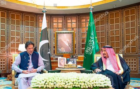 Editorial image of Saudi Persian Gulf Tensions, Riyadh, Saudi Arabia - 15 Oct 2019