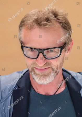 Norwegian author Jo Nesbo smiles while visiting the Frankfurt Book Fair 2019 in Frankfurt am Main, Germany, 16 October 2019. The 71st edition of the international Frankfurt Book Fair, described as the world's most important fair for the print and digital content business, runs from 16 to 20 October and gathers authors, writers and celebrities from all over the world.