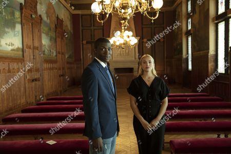 Jammeh Diangana as Soulaymaan and Chloe Jouannet as Lisa