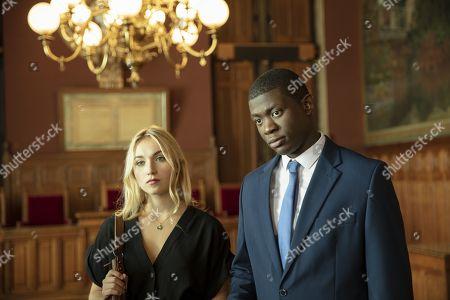 Chloe Jouannet as Lisa and Jammeh Diangana as Soulaymaan