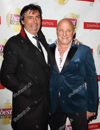 Jean-Christophe Novelli and Aldo Zilli