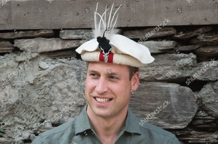 Prince William visits a settlement of the Kalash people, to learn more about their culture and unique heritage in Chitral, Pakistan